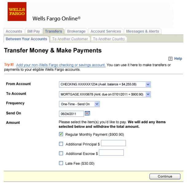 Pay Wells Fargo Mortgage Login Bill Online